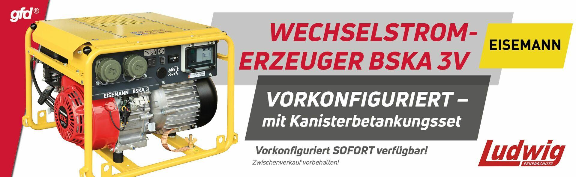Wechselstromerzeuger BSKA 3V